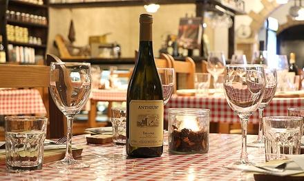 Menú italiano para 2 o 4 con entrante, principal, postre y bebida en Frasqueta28 (hasta 57% de descuento)