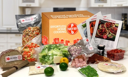 Prepared Meal Packages for Two or Four People from Pantry Boy (53% Off)