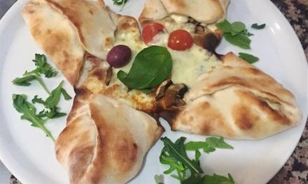 Menú para 2 o 4 con entrante, principal, postre y bebida o botella de lambrusco desde 19,99 € en Siamo Buona Pizza