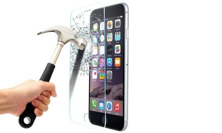 Protection décran en verre trempé pour plusieurs modèles de smartphones, anti rayures, anti chocs et anti poussière