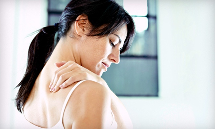 Risner Chiropractic and Wellness Center - Oakdale: Exam with One or Three Adjustments and Therapy Sessions at Risner Chiropractic and Wellness Center (Up to 86% Off)