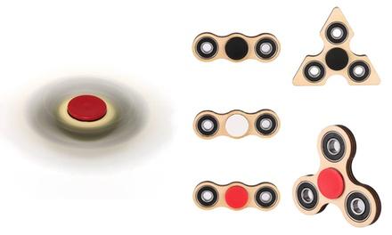 fidget spinner aus holz groupon goods. Black Bedroom Furniture Sets. Home Design Ideas