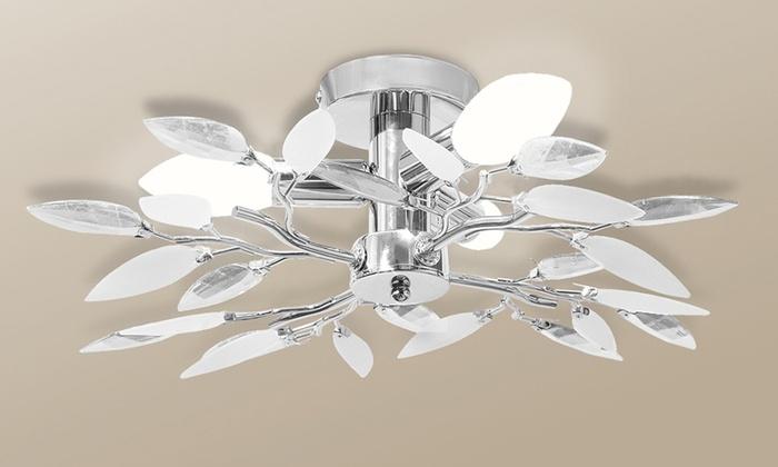 Lampadario Allaperto : Fino a su lampadario da soffitto groupon