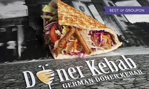 Doner Kebab: Doner Kebab Meal from German Doner Kebab for Dine In, Delivery and Take Away (Up to 29% Off)