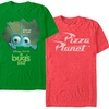 Disney Men's Pixar Logo Icons T-Shirts