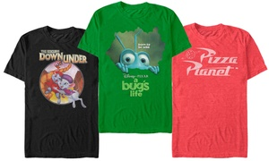 Disney Men's Pixar Logo Icons T-Shirts