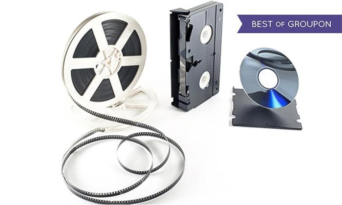 Digitalisierung von 3 oder bis zu 18 Videokassetten oder 1 Schmalfilm bei Film Digital Brandenburg (bis zu 97% sparen*)