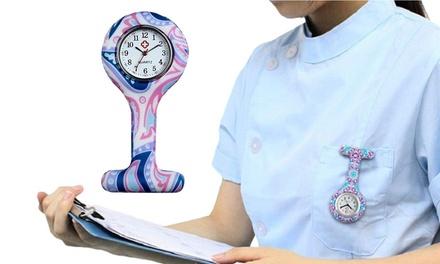 Patterned Nurse Watch