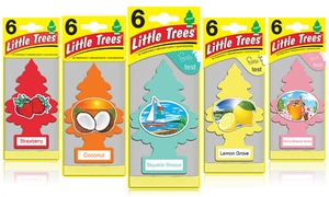 Little Trees Automotive Air Fresheners (6-Pack)