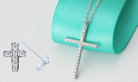 Collar y/o pendientes de plata de ley de la marca Van Amstel