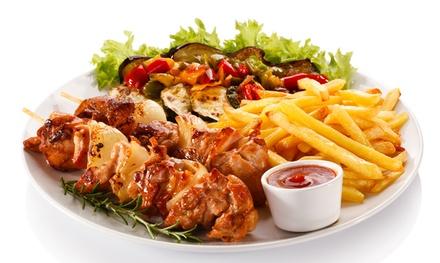 Mittagsbuffet inkl. Tagessuppe und Getränk für zwei oder vier Personen im Tunga Restaurant (bis 38% sparen*)