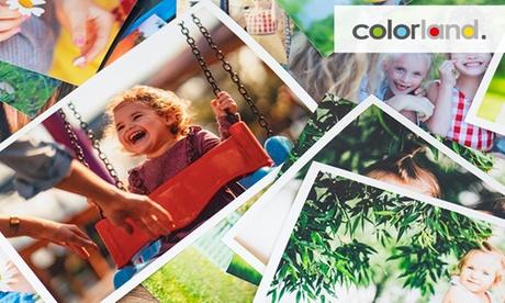 Hasta 500 fotos digitales impresas en tamaño a elegir con Colorland (hasta 91% de descuento)