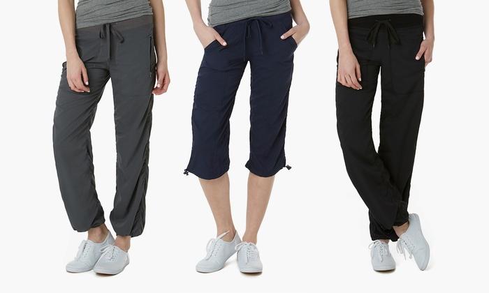 All Weekend Long Women's Long or Capri Pants   Groupon