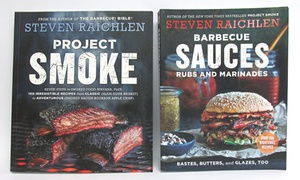 Steven Raichlen Project Smoke & Barbecue Sauces, Rubs, and Marinades