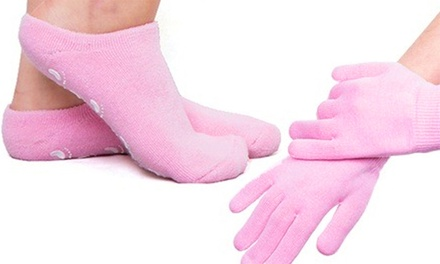 $9 for a Pair of Moisturising Gel Gloves or Socks or $16 for Both Don't Pay Up to $89.95