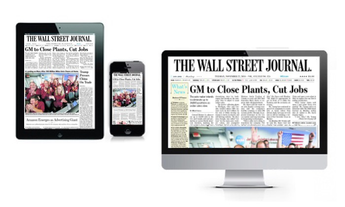 1d80a83a55f Wall Street Journal e-Edition - Up To 92% Off