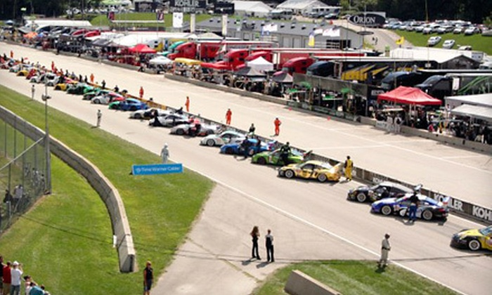 Elkhart Lake's Road America - Fox Cities: $30 for a Personalized Sunset Cruise Driving Experience on May 19, July 5, or August 31 at Road America in Plymouth ($65 Value)