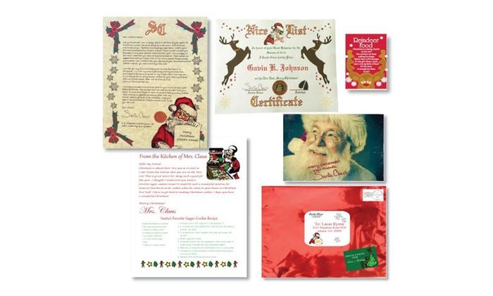 up to 58 off a santa package from sealedbysanta com groupon