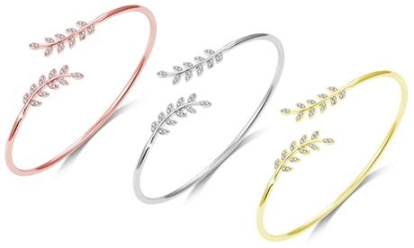 1, 2 o 3 brazaletes de Philip Jones decorados con cristales de Swarovski®