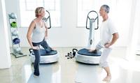 4x od. 6x 20 Min. Vibrationsplatte u. 2x od. 3x Wasserstrahl-Massageliege in der Bodylounge Vital & Relax (85% sparen*)