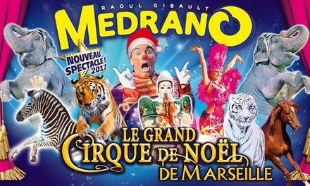 1 place en tribune dhonneur pour le « Grand Cirque de Noël », dates et horaires au choix à 10 € à Marseille