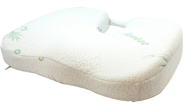 From $17 for a Bamboo Memory Foam Travel Pillow, Back Support Pillow or Seat Cushion