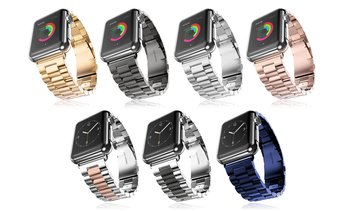 Stainless Steel Bands for Apple Watch Series 1, 2, 3, 4 & 5