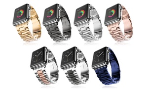 Stainless Steel Bands for 38mm and 42mm Apple Watch Series 1, 2, and 3