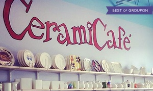 CeramiCafe: $17 for $32 Worth of Paint-Your-Own-Pottery at CeramiCafe