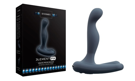 Sir Richard's Element PM Vibrating Rechargeable Silicone Prostate Vibrator 2c3dc94e-8902-11e7-b2a2-002590604002