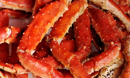 Cajun-Style Seafood and Fried Appetizers for Two or Four at Crab Yard (50% Off)
