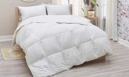 image placeholder image for plumadown cotton sateen european down comforter