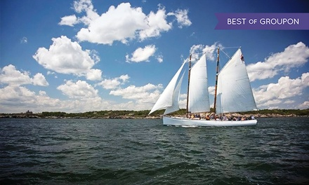 Day Sail or Sunset Sail for Two on the Schooner Adirondack II (Up to 25% Off)