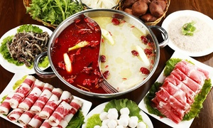 Bai Du Restaurant: Hot Pot or Korean BBQ and Sushi AYCE at Bai Du (Up to 45% Off). Four Options Available.