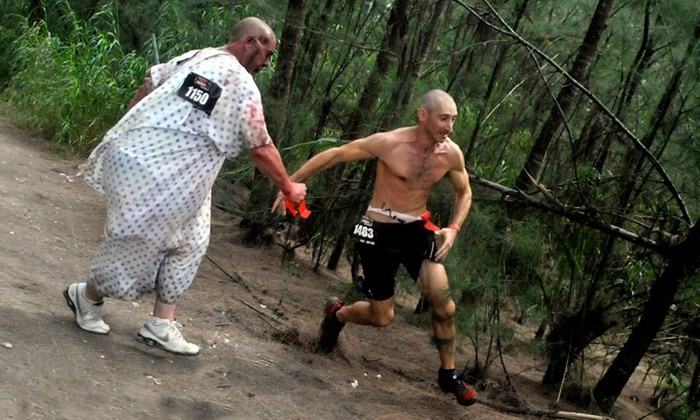 Zombie Charge - Suchocki Tree Farm: 5K Runner Entry for One or Two to Zombie Charge (Up to 50% Off)