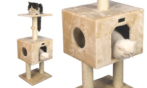 Armarkat Classic Two-Level Cat Tree