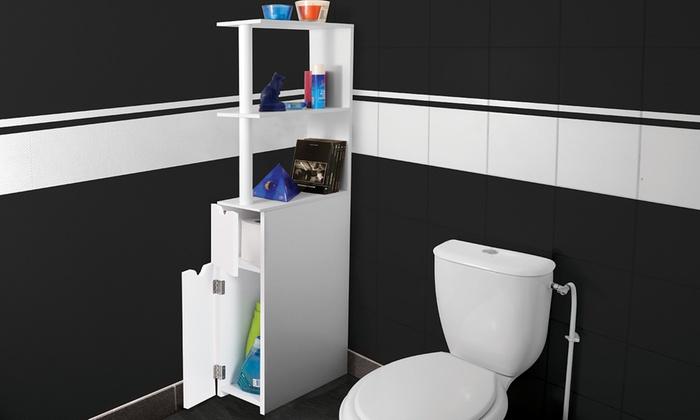 Meuble De Rangement Toilettes | Groupon