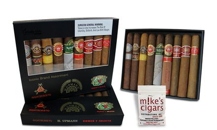 Cuban Presidential Selection Cigar Sampler (9-Piece) from Mike's Cigars