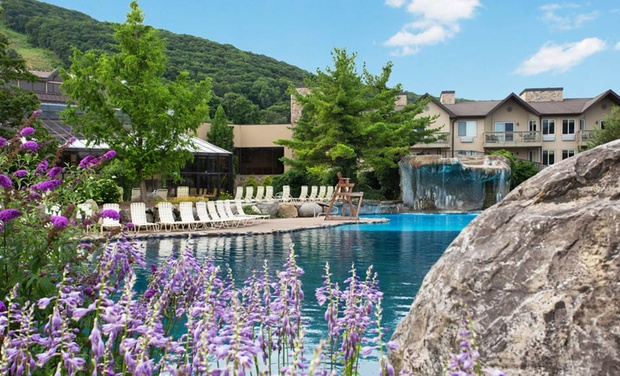 TripAlertz wants you to check out Stay with Optional Water-Park Passes at Minerals Hotel in Vernon Township, NJ. Dates into October. Golf & Spa Resort amid New Jersey Mountains - New Jersey Golf & Spa Resort