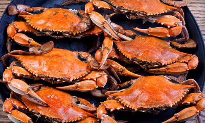 Crab King of Augusta - Multiple Locations: Seafood Takeout Meal for Two or Four People at Crab King of Augusta