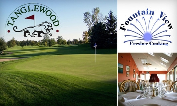 Tanglewood Golf Club - Lyon: $30 for $60 Worth of Fine Dining at Tanglewood Golf Club's Fountain View Restaurant Plus One Round of Golf (Up to $105 Total Value)