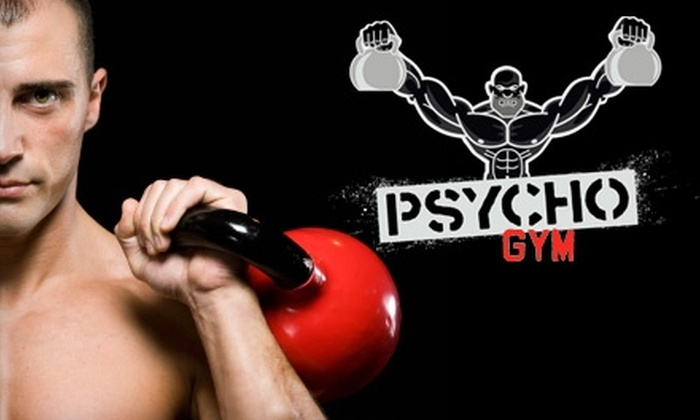 Psycho Gym - Multiple Locations: $29 for a One-Month Unlimited Membership to Psycho Gym