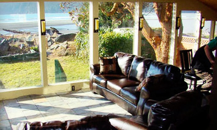 Big Fish Lodge - Port Renfrew: One- or Two-Night Stay for Two at Big Fish Lodge in Port Renfrew (Up to 55% Off)