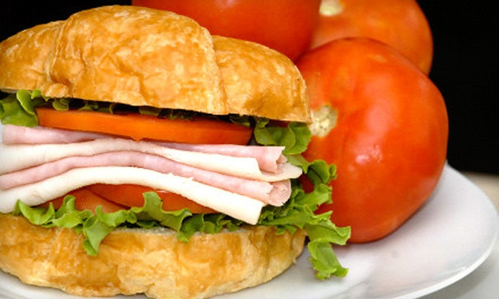 The Shade Tree Cafe - Mimosa Acres: $14 for Lunch for Two at The Shade Tree Cafe in Pearland (Up to $30.27 Value)