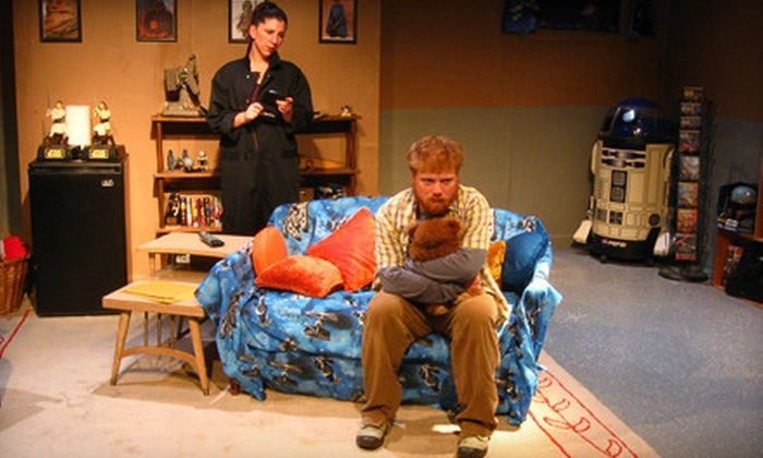 """All Childish Things"" presented by Hubris Productions - Lincoln Park: $12 for One Ticket to ""All Childish Things"" at Greenhouse Theater on December 11, 15, or 16 (Up to $27.50 Value)"