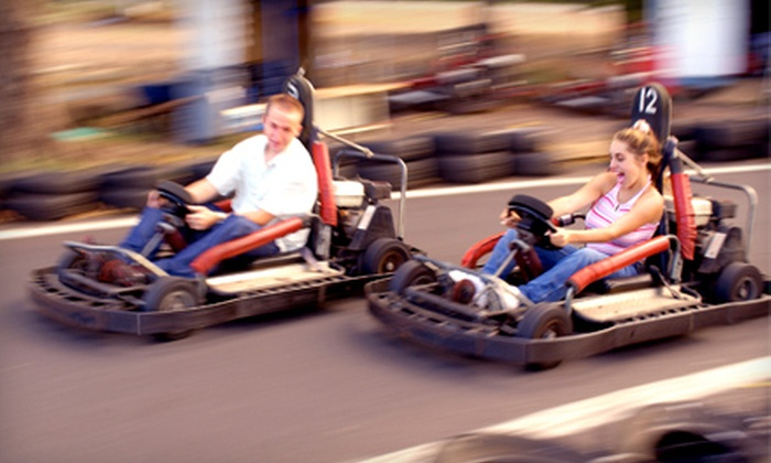 Funworks - Modesto: $25 for 12-Attraction Family Pass at Funworks Modesto ($50 Value)