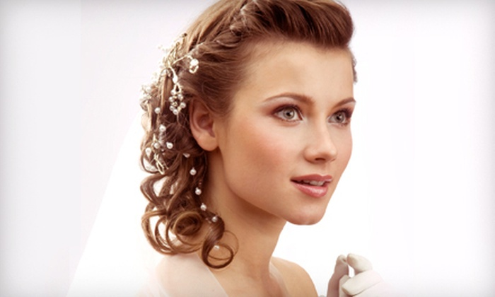 R Salon - Camelback East: Trial Style and Updo for the Bride and Optional Updos for Two Bridesmaids at R Salon (Up to 56% Off)