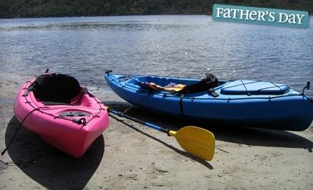 Boh's Cycle & Sporting Goods: 1-Hour Kayak or Canoe Rental - Boh's Cycle & Sporting Goods  in Moose Jaw