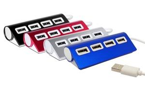 Hub 4 ports USB en aluminium