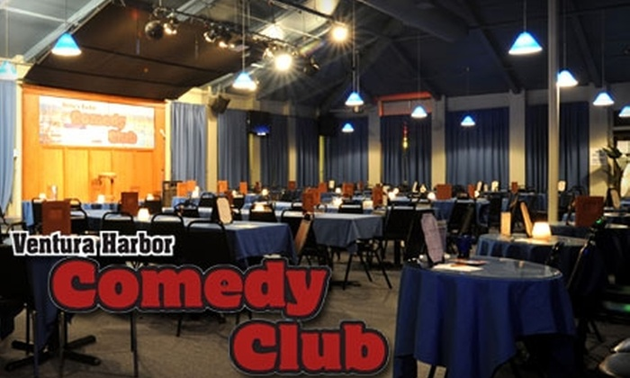 Ventura Harbor Comedy Club - San Buenaventura (Ventura): $7 for One Ticket to a Friday or Saturday Show or Four Tickets to a Wednesday, Thursday, or Sunday Show at Ventura Harbor Comedy Club (Up to $60 Value)